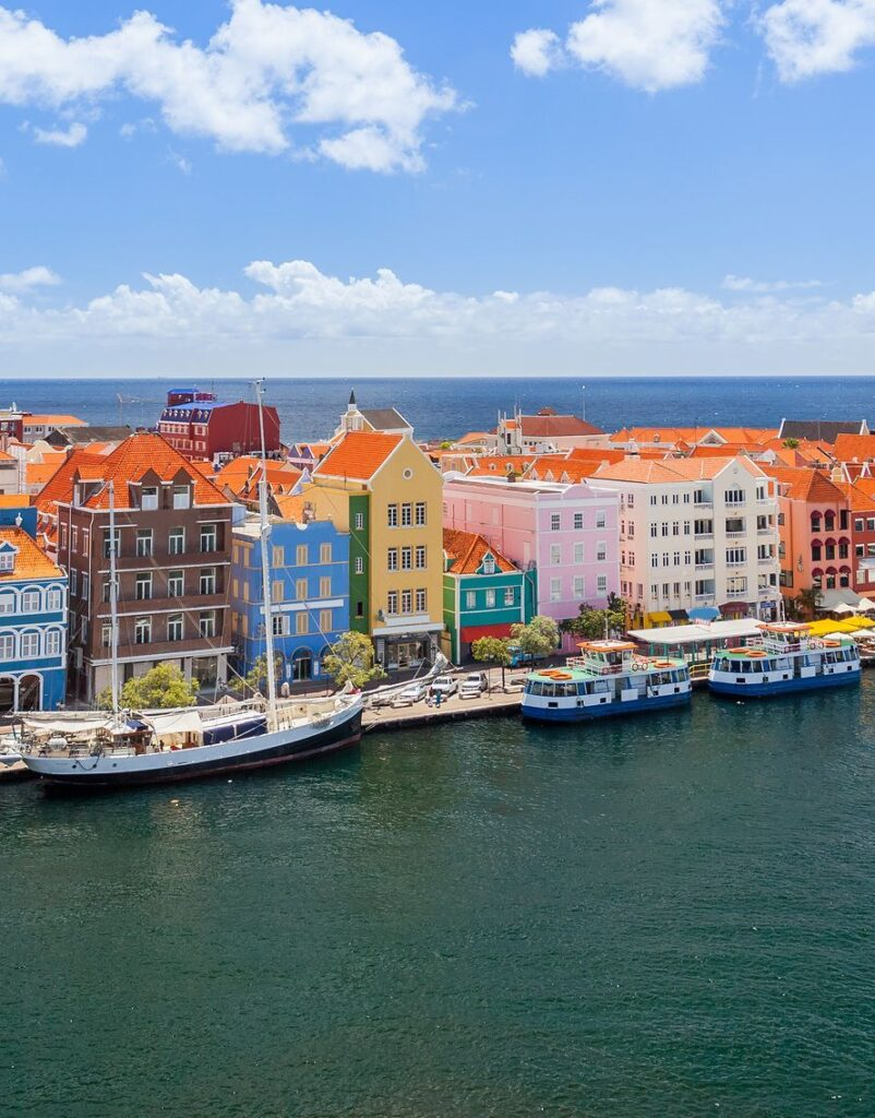 Go diving in the deep blue seas of Curacao.